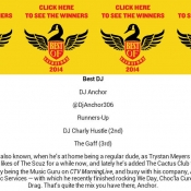 Dj Anchor Voted Best Dj In Saskatoon By Planet S Magazine