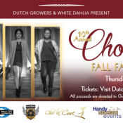 Dutch Growers & White Dahlia Saskatoon Present: Choc La Cure Fall Fashion Show Thursday September 15th 2016