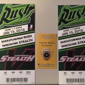 Free Tickets To Saskatchewan Rush Lacrosse, Saskatoon SaskTel Center - Armed With Harmony