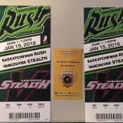 Free Tickets To Saskatchewan Rush Lacrosse, Saskatoon SaskTel Center - Armed With Harmony