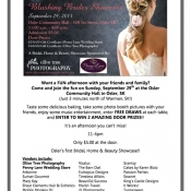 Osler Bridal Show This Weekend Sunday Sept 28th!