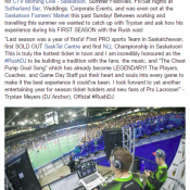 Saskatchewan Rush #RushDJ Dj Anchor talks about the 2016-2016 Season in Saskatoon