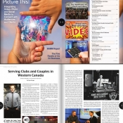 Saskatoon DJ Anchor of Armed With Harmony featured in Mobile Beat Magazine The Worlds Biggest Mobile & Club DJ Mag