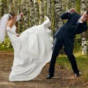 Talk About A Courageous Bride