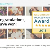 Wedding Wire's Saskatoon Couples Choice Award Winner For 2015