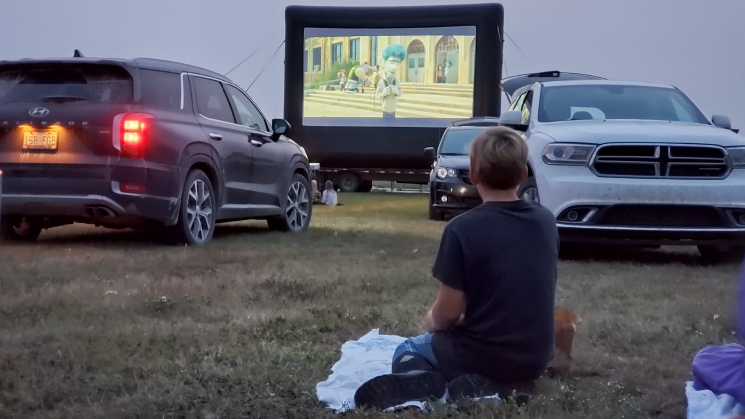 Saskatchewan Outdoor Pop Up Drive In Movie Theatre - Armed With Harmony & Cinema Under The Stars