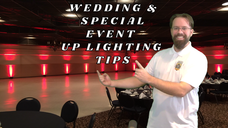 Saskatoon Up Lighting Rentals - Wedding & Special Event Lighting Tips