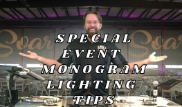 Saskatoon Monogram Lighting Rentals - Gobos For Wedding & Special Events. Name In Lights Tips